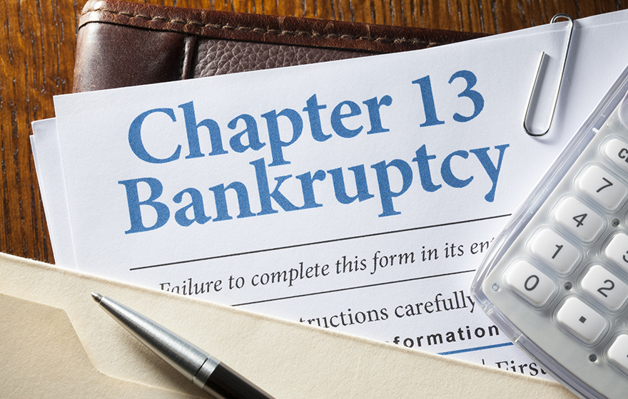 Documents for filing bankruptcy