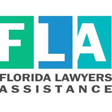 Florida Lawyers Assistance logo with the letters F, L, and A capitalized with a blue/teal color scheme.