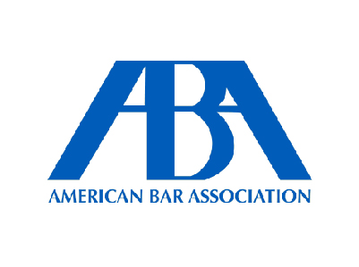 FLAYLD American Bar Association logo, the letters A, B and A in blue